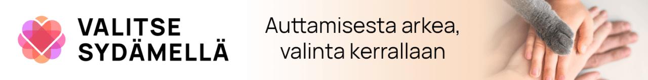 Valitse Sydämellä -banneri